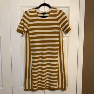 Ann Taylor PETITE Striped Dress